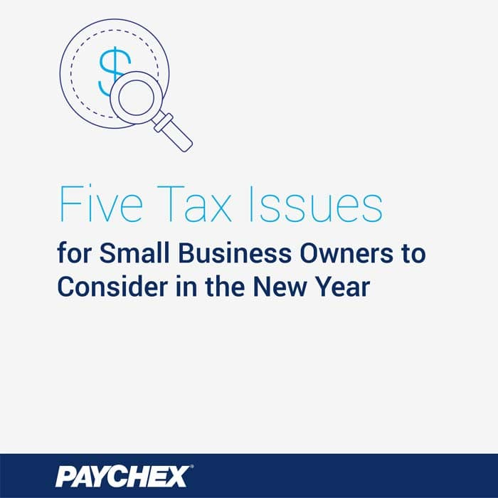 Five tax regulation small business owners should know about.