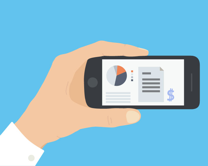 Managing employee spending with mobile expense reporting