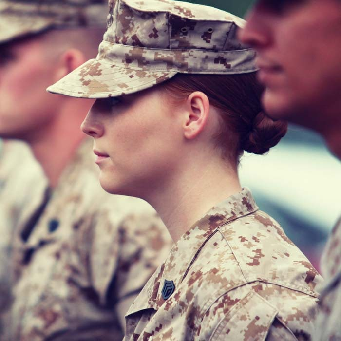 Use social media to find the right military veteran talent for your company.