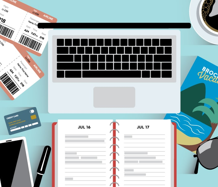 Better vacation planning, keep productivity