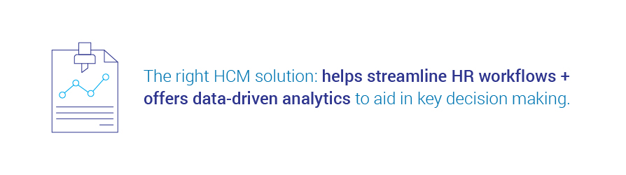 the right HCM solution