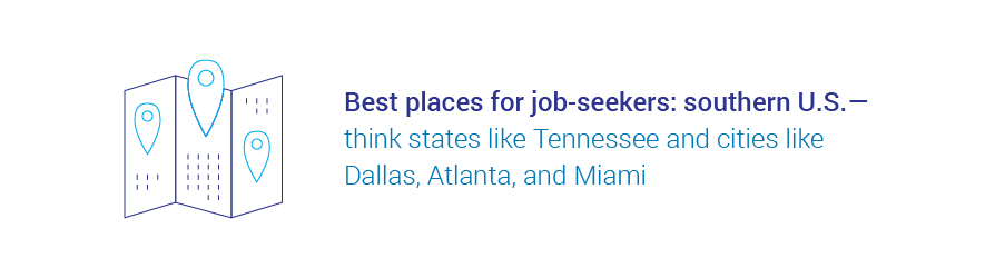 best places for job-seekers