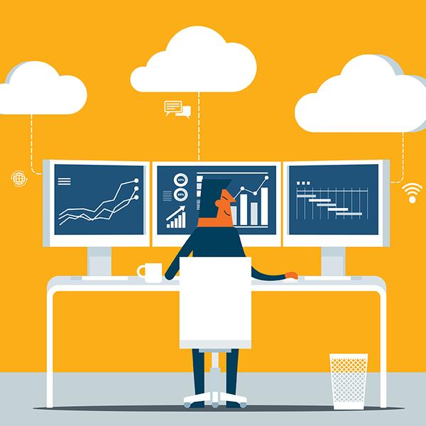 Virtual office management with cloud accounting