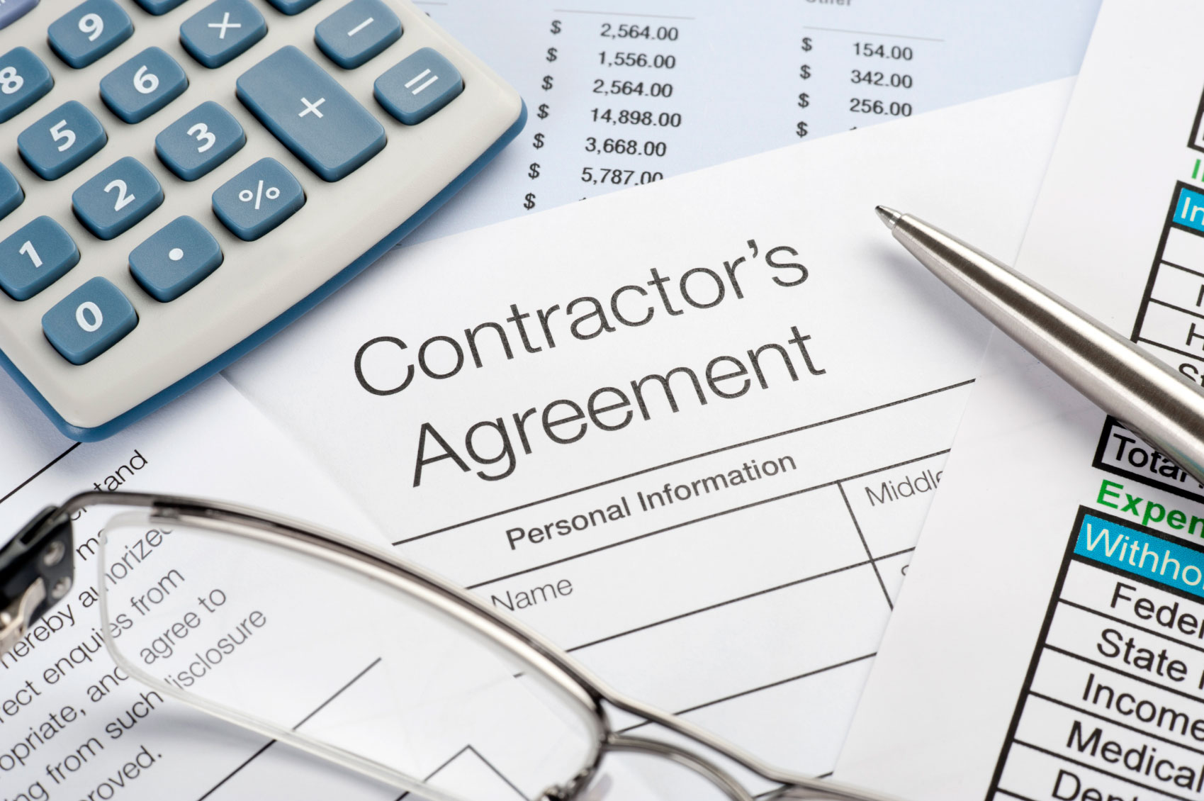 how to become a finance contractor