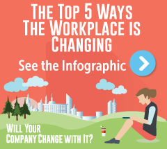 Infographic: top 5 way the workplace is changing in 2016
