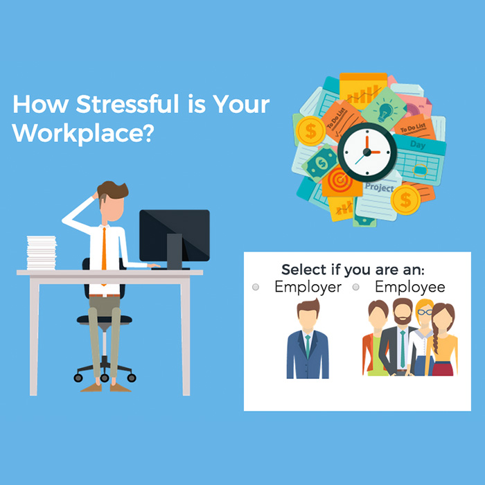 How stressed is your workplace?
