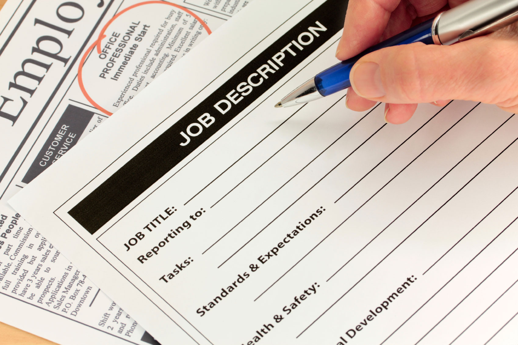 creating job descriptions that really work paychex job descriptions