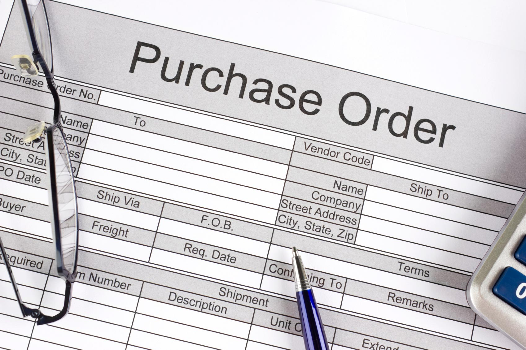 Purchase Order Basics For Small Business | Paychex