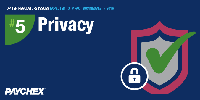 Regulatory issues - Privacy - Paychex