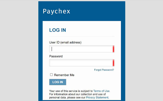 Accounting Professionals login