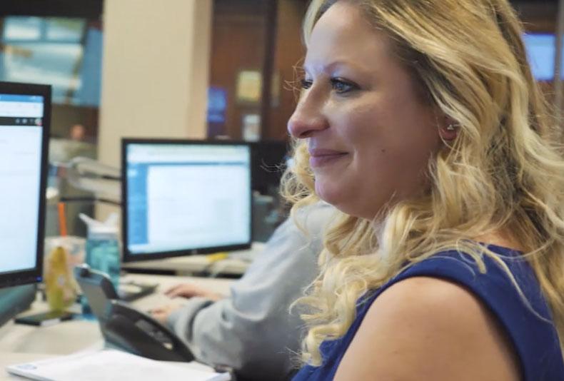 Amber, empleada de Paychex