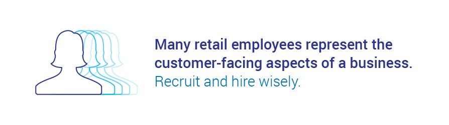 hiring retail workers