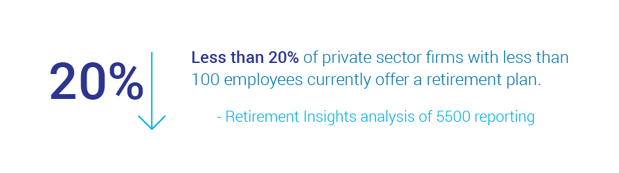 retirement plans in private sector