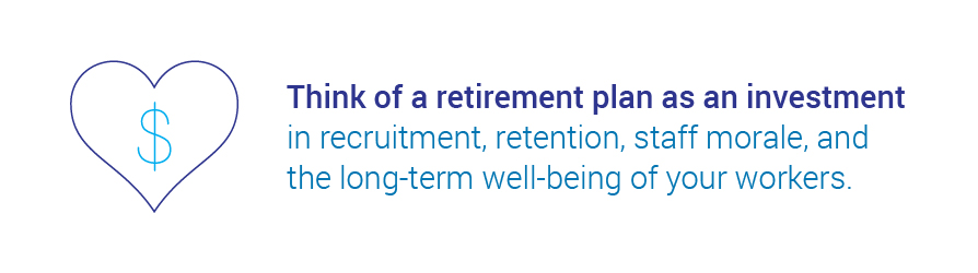 retirement plans in franchises