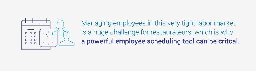 employee scheduling tool