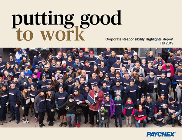 Corporate Responsibility Highlights Report