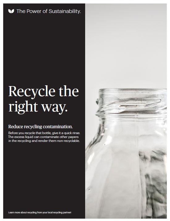 Programa de reciclaje de empleados