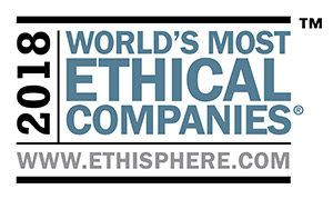2018 World's Most Ethical Companies award winner
