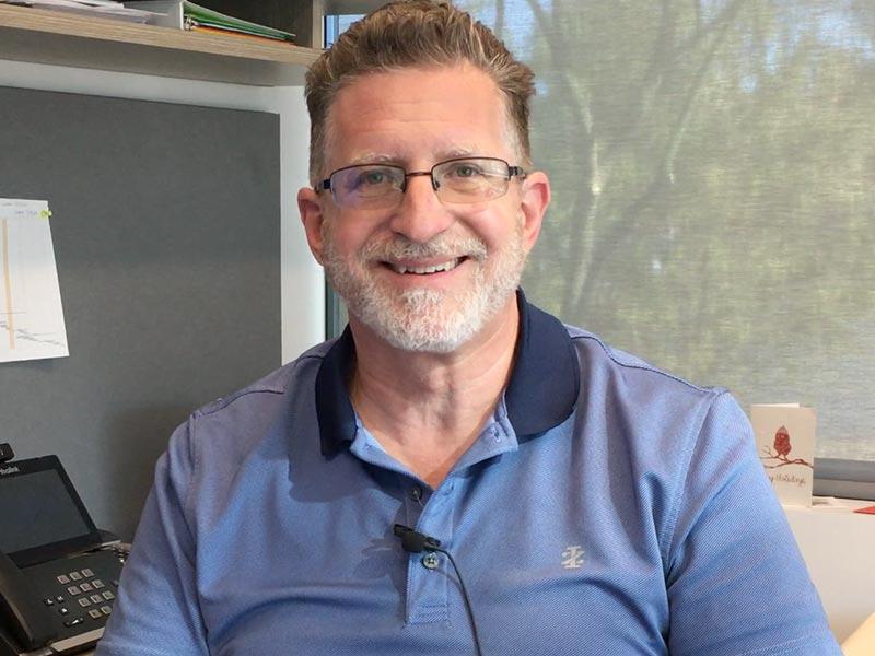 Kevin Hull es el director financiero de TYR Tactical en Arizona