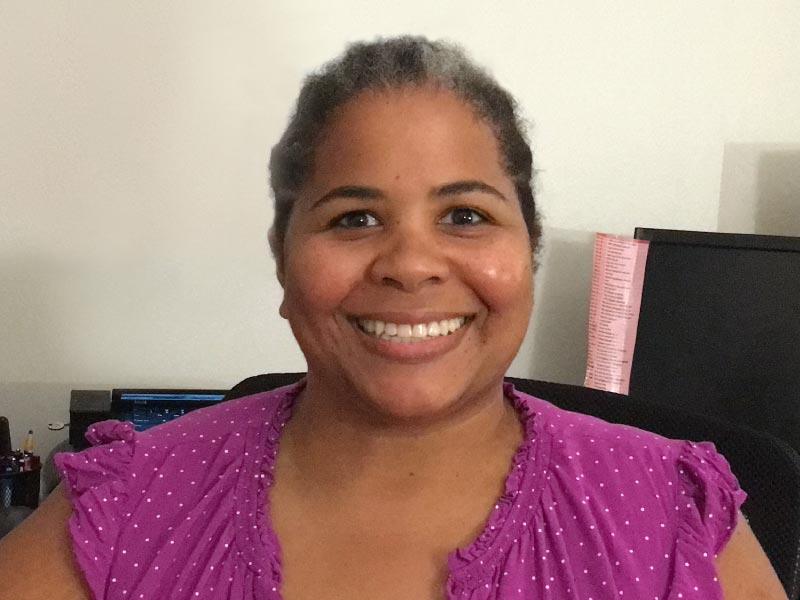 Janna Jackson es la gerente comercial de la Escuela Diurna de la Comunidad Judía de Nueva Orleans.