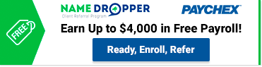 Earn up to $4K in free payroll. Refer today!