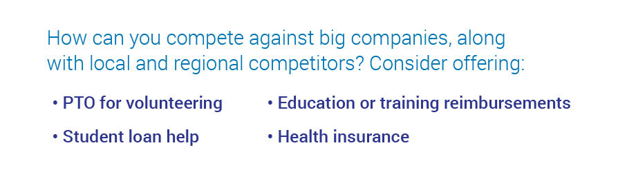 competitive benefits