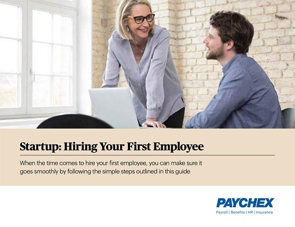 Guide to hiring your first employee