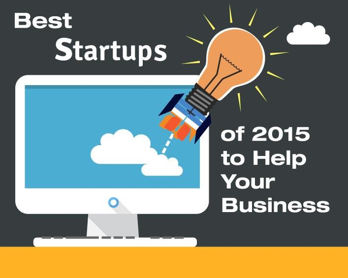 The best startups of 2015 that can help your business.