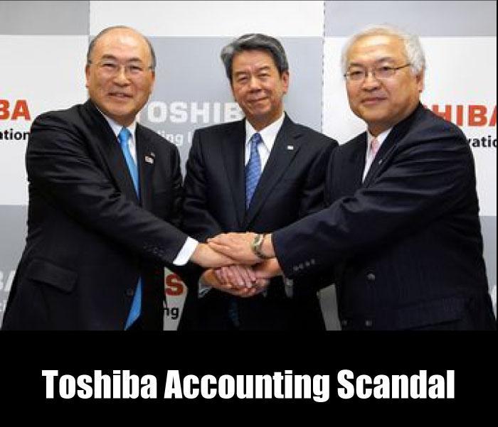 Escándalo contable de Toshiba