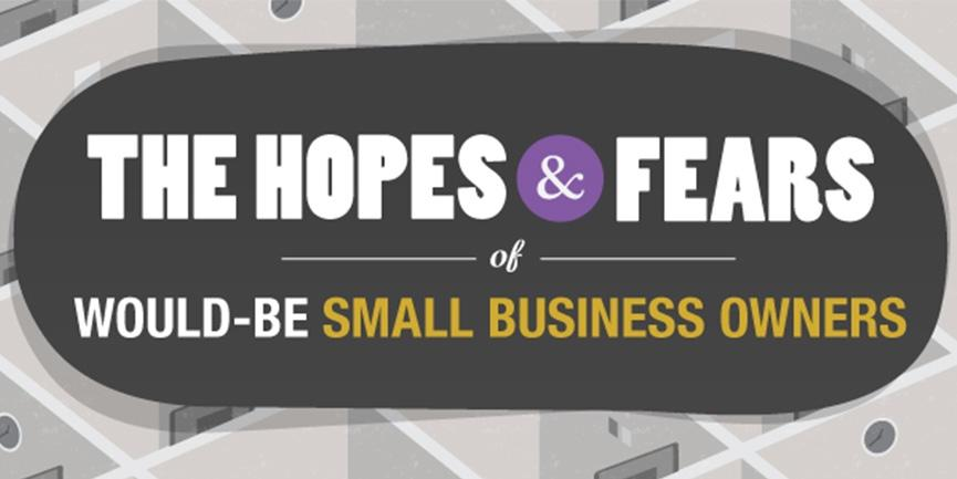 hopes and fears of would-be small business owners