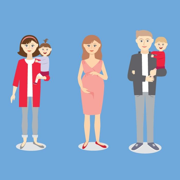 Maternity leave policies, parental leave trends