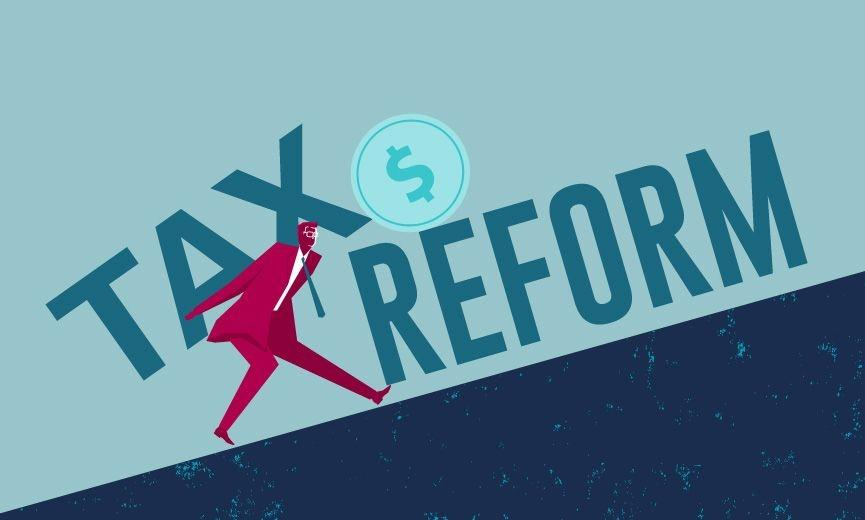 Tax reform and changes infographic
