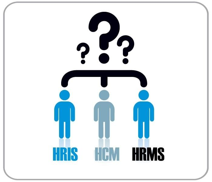 What's The difference between HRIS, HCM, and HRMS