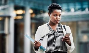 An employer checks out resources created by the Equal Employment Opportunity Commission to help with training on gender identity  discrimination.