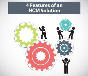 4 features of a hcm solution