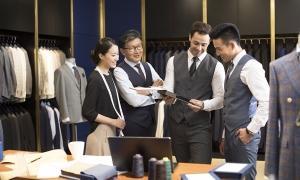 colaboración en equipo en el lugar de trabajo