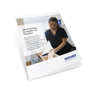 White paper cover healthcare providers