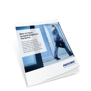 White paper cover employee turnover