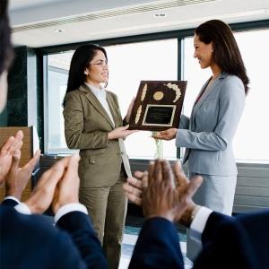 Demonstrating employee appreciation.