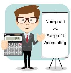 nonprofit vs profit accounting