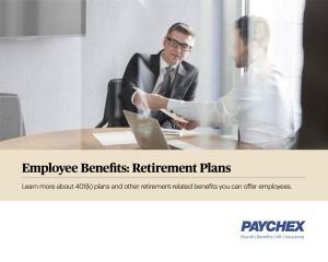 employee benefits retirement plans whitepaper
