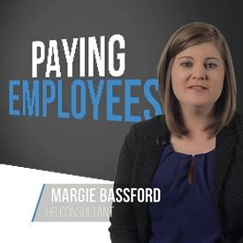 paying employees