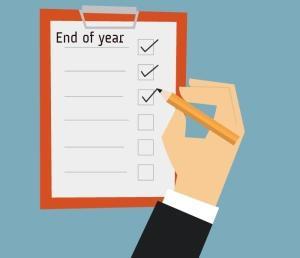 End of year payroll checklist