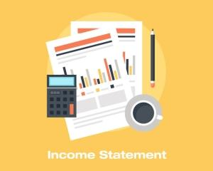 A comparative income statement