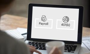 payroll processing combined with 401(k) plan administration