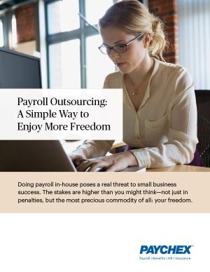 payroll outsourcing gives you more time and freedom