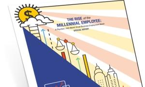 Rise of millennial workers whitepaper cover