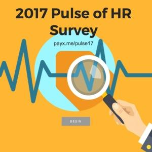 Pulse of HR Survey from Paychex