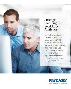 strategic planning workforce analytics whitepaper