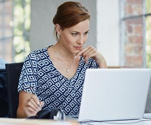 Woman Navigating the Paycheck Protection Program
